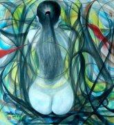 陈胜祥抽象绘画:震撼人心的东方抽象之