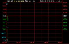开盘:两市涨跌不一沪指跌0.33% 创业板微涨